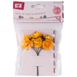 Flores de Papel Paquete de 6 ud.