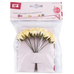 Flores de Papel Paquete de 10 unid.
