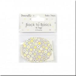 Etiquetas Back To Basics Baby Steps