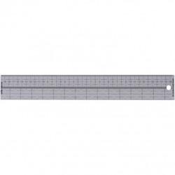 Regla de aluminio 30 cm