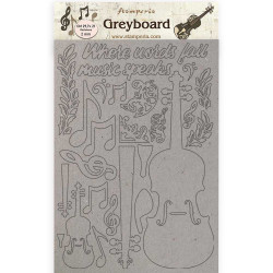 Greyboard A4 1 mm Calligraphy