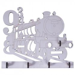 Set soporte posavasos 9 3/4 + 6 posavasos 13x13x6 cm