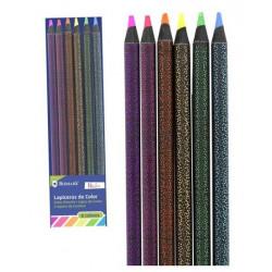 Set 12 Lapices colores Neon-Pastel