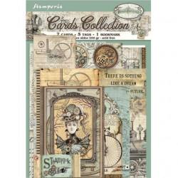 Set Tarjetas Stamperia Alice in Wonderland