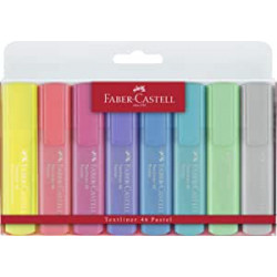 Rotuladores Faber-Castell Textliner 1546 Pastel