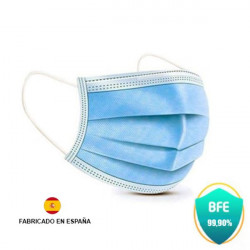 Pack 40 Mascarillas Azul Quirurgicas Prosafe