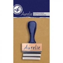 Aplicador de Tinta Rectangular + 2 Esponjas de Aurelie