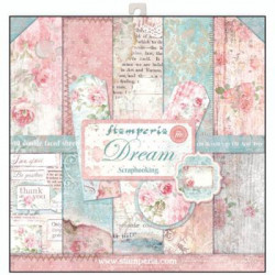 kit de Papeles Scrap Dream Stamperia 30 x30