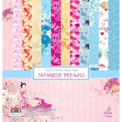 Set Papeles Japanese Dreams 15x15