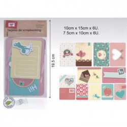 Tarjetas Decorativas Scrapbooking