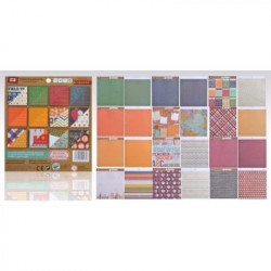"Block Papel Scrapbooking 15,2 X15,20 "" Pop"""