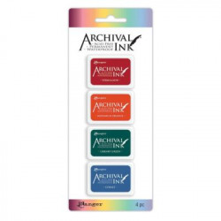 Ranger archival mini ink pad kit 2