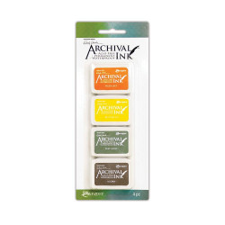 Ranger Wendy Vecchi mini archival ink pad kit 5