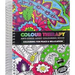 Libro para Colorear Adultos 80 Diseños Espiral