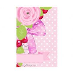 Vellum Cards Pink 12 Tarjetas