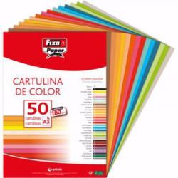 Cartulina Din A-3 Amarillo Canario