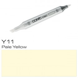 ROTULADOR COPIC CIAO DOS PUNTAS COLOR Y11 PALE YELLOW