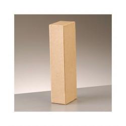 Letra cartón I Alto 16,5 x fondo 5,5 cm