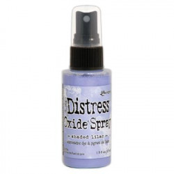 Tim Holtz distress oxide spray Victorian Velvet