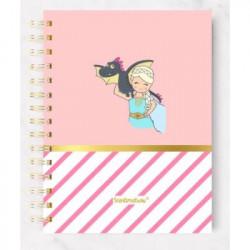 """Cuaderno 5 Centimetros """" Dracarys"""""""