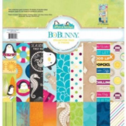 Kit Papeles Estampados 12x12 Make A Splash