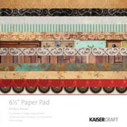 """Pack  papeles Kaisercraft 6.5""""X 6.5"""" antique bazaar"""