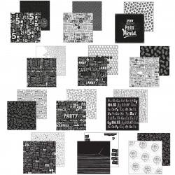 Kit de Papeles Scrap 30.5x30.5 Paperfuel