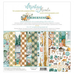 Kit de Papeles Scrap 30x30 Mintay By Karola Marina