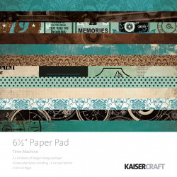 Pack de papeles Kaisercraft 30,5x30,5cm Pen & ink
