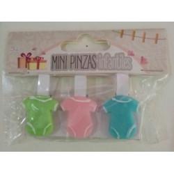 Mini pinzas Infantiles Bodys