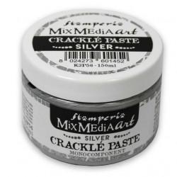 CRACKLE PASTE PLATA STAMPERIA150 ML