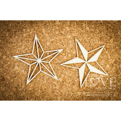 Chipboard - Falling stars Le Astre