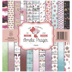Kit Amelie India Girl 30x30 (12 papeles)