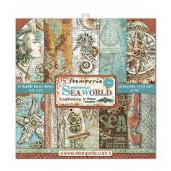 Colección Scrap Sea World  Stamperia 30 x30 PROXIMAMENTE