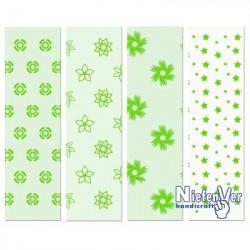 Papel Scrapbooking Modelo 1 Verde