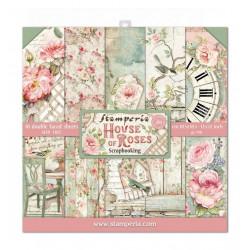 Colección Scrap House of Roses Stamperia 30 x30 PROXIMAMENTE
