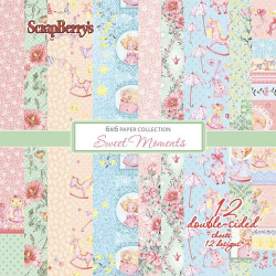 Colección Papeles 15x15 Sweet Moments