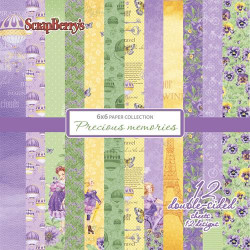 Set papeles scrap 30x30 Scrapberry's First Moments