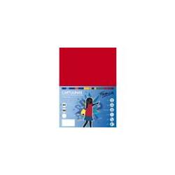 Cartulina A-4 Apli Rojo
