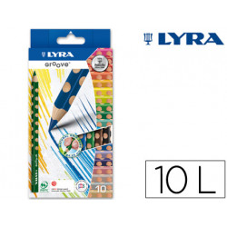 Lyra Groove Triangular Mina 4.5 mm(Caja 10 colores)