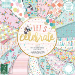 Papeles Scrapbooking - Let´s Celebrate 20X20