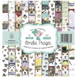 AMELIE AND FRIENDS (SET 12 PAPELES)