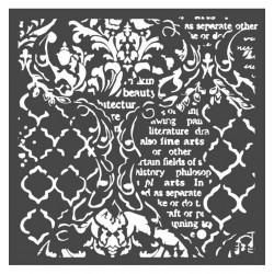 Stencil Stamperia Steampunk 15X20CM Y 0.5MM PROXIMAMENTE