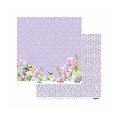 """Papel Scrapberry´s 12 x 12 Winter Wonderland """" Magical Wishes"""