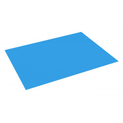 Cartulina A-4 Fabrisa Azul Media 180 grs.