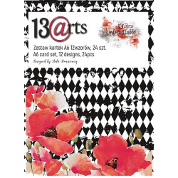 Set  Tarjetas A6  Unforgettable 13@rts