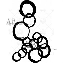 Stencil masks Abstract dots - 13 @rts