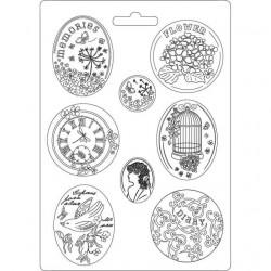 Stamperia Soft Mould A4 Hortensia