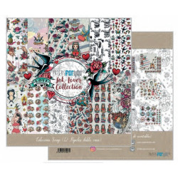 Colección Scrap 30X30 Papers For You Ink lover